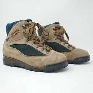 ZAMBERLAN Trekking Tan Leather Hiking  Boots